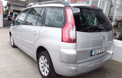 Rear-left view - silver 2013 (131) Citroen C4 Picasso 1.6 HDI Diesel - Save €1000 only at Slaney View Motors