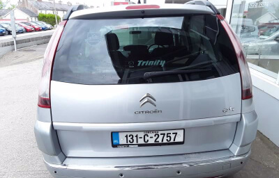 Rear view - silver 2013 (131) Citroen C4 Picasso 1.6 HDI Diesel - Save €1000 only at Slaney View Motors
