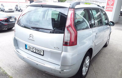 Rear-right view - silver 2013 (131) Citroen C4 Picasso 1.6 HDI Diesel - Save €1000 only at Slaney View Motors