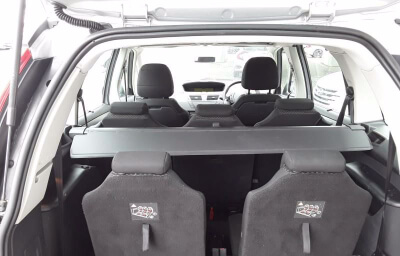 Interior rear view - silver 2013 (131) Citroen C4 Picasso 1.6 HDI Diesel - Save €1000 only at Slaney View Motors