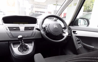 Interior front-left view - silver 2013 (131) Citroen C4 Picasso 1.6 HDI Diesel - Save €1000 only at Slaney View Motors