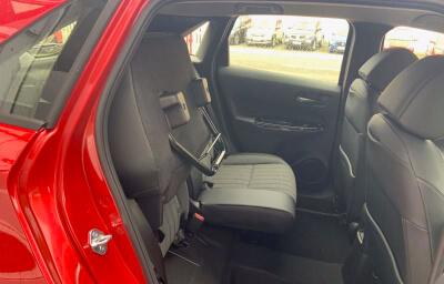 Rear seat alternate view - red 2021 (212) Honda Jazz 1.5 i-MMD Elegance - Save €1,995 only at Slaney View Motors