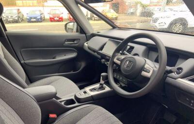 Interior Front-left panel view - red 2021 (212) Honda Jazz 1.5 i-MMD Elegance - Save €1,995 only at Slaney View Motors