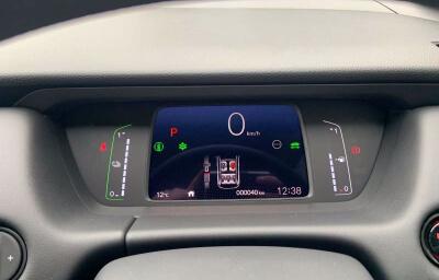 Interior Panel Stats view - red 2021 (212) Honda Jazz 1.5 i-MMD Elegance - Save €1,995 only at Slaney View Motors