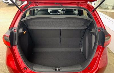 Trunk view - red 2021 (212) Honda Jazz 1.5 i-MMD Elegance - Save €1,995 only at Slaney View Motors