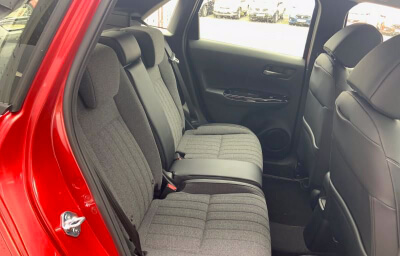 Rear seats view - red 2021 (212) Honda Jazz 1.5 i-MMD Elegance - Save €1,995 only at Slaney View Motors