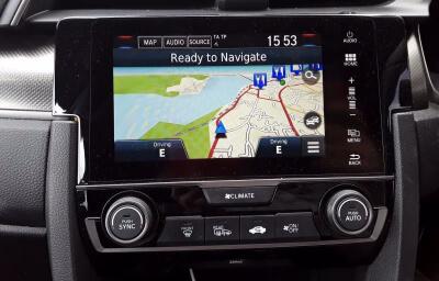 sat nav view - red 2018 (182) Honda Civic 1.6 I-DTEC Smart Plus - Save €1000 only at Slaney View Motors