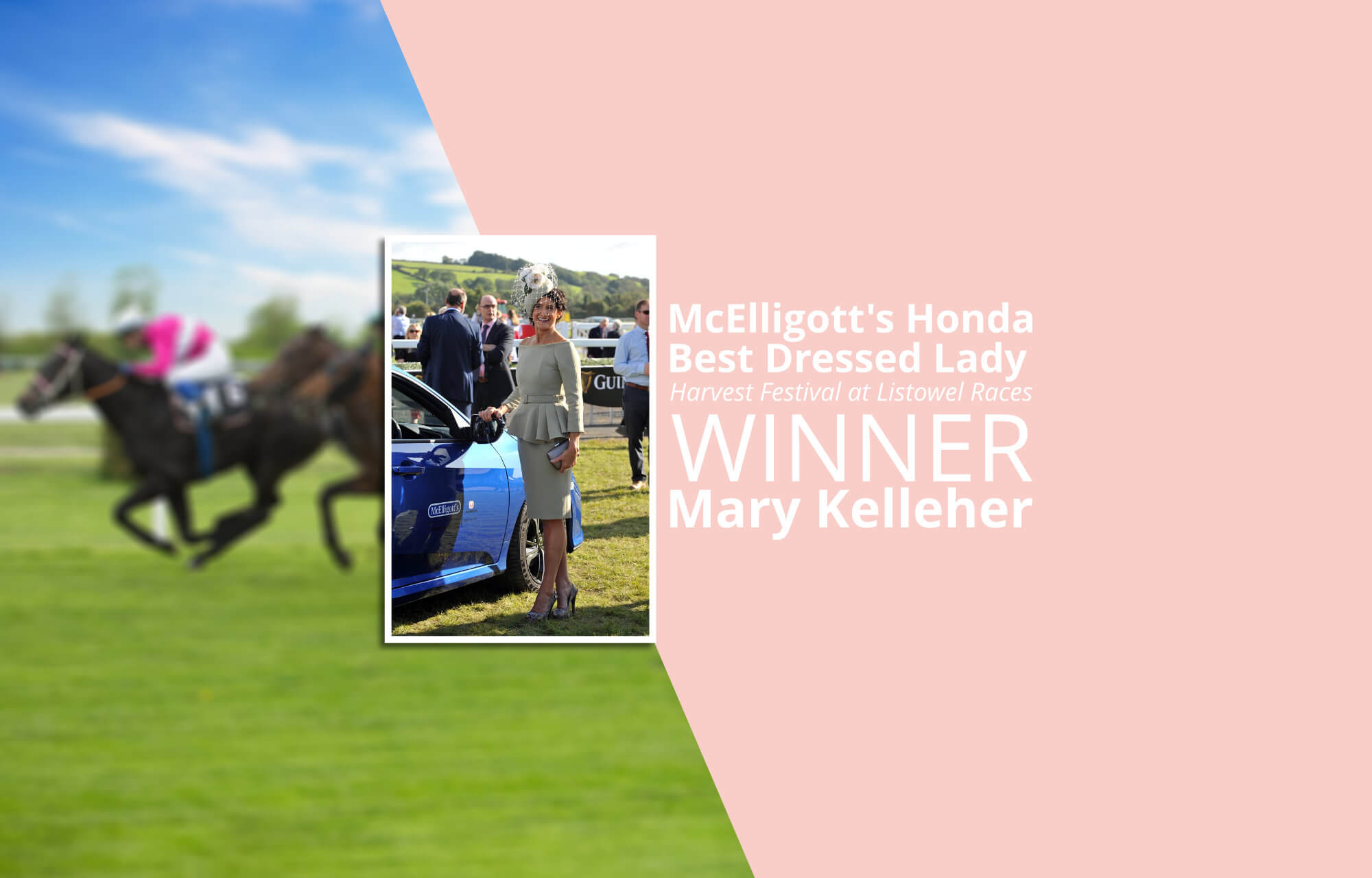 McElligott's Honda Best Dressed Lady at Listowel Races