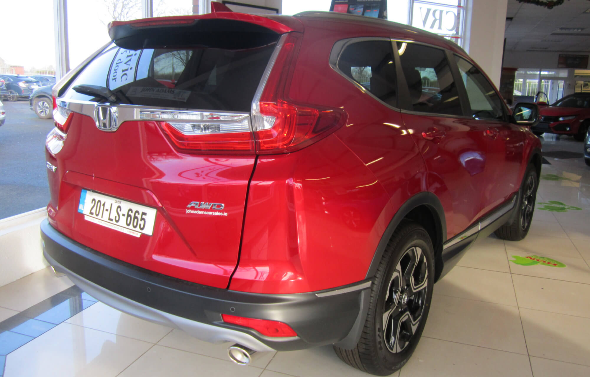 201 Honda CR-V 1.5 Petrol AWD 7 Seater available now