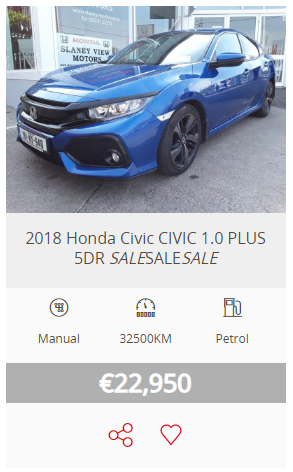 Slaney View Motors Awesome Autumn Used Car Sale