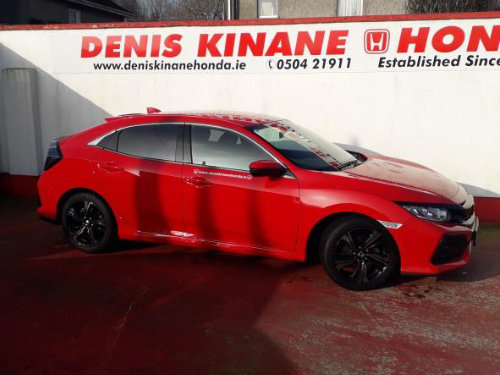 191 Honda Civic 5DR Hatchback 1.6 i-DTEC Plus available at Denis Kinane Motors Thurles