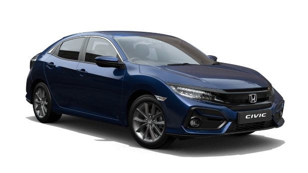 212 Honda Civic Hatchback from €321.42 Per Month available at Johnson & Perrott Honda