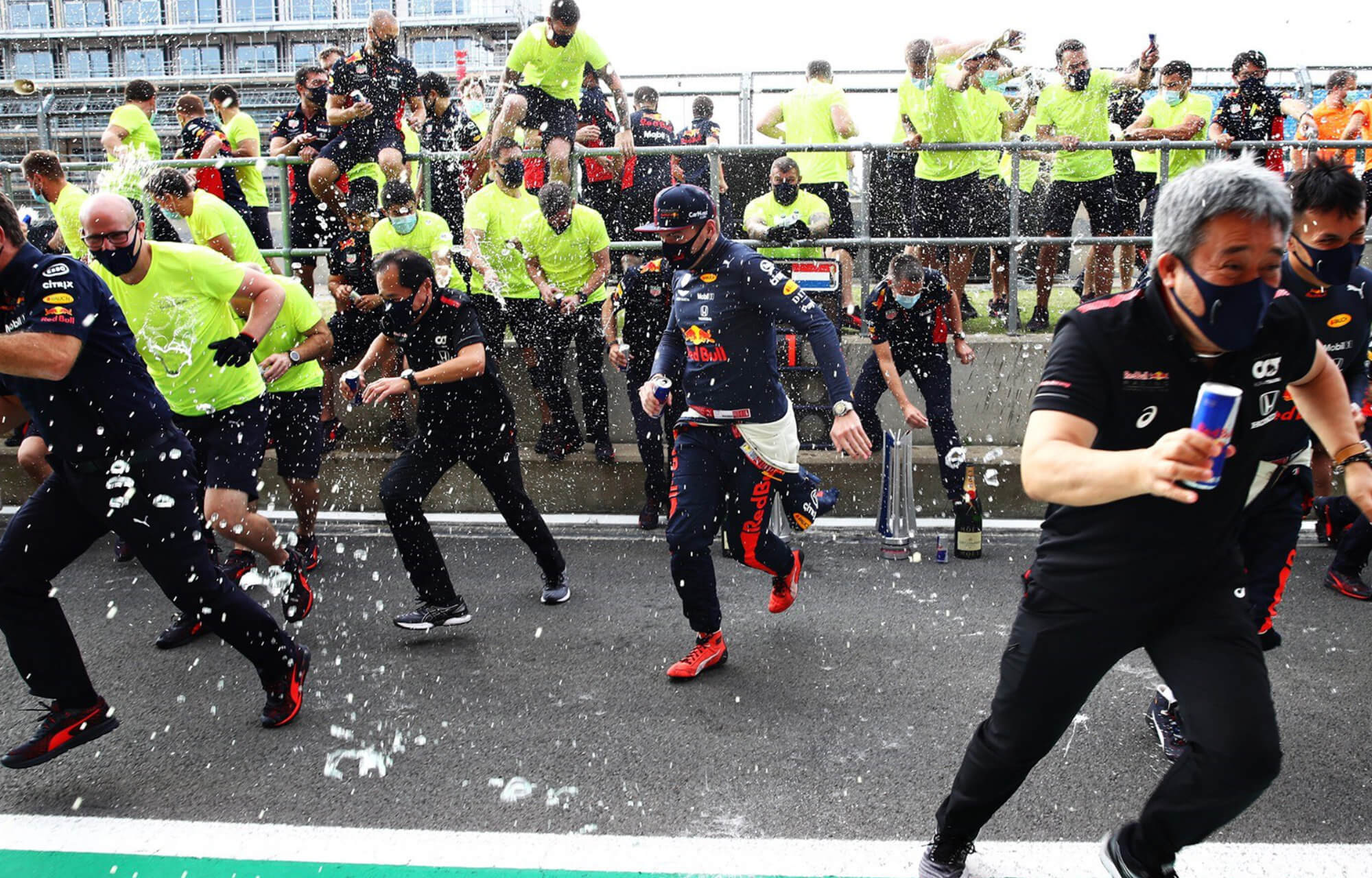 Verstappen Takes First Win of 2020 At The 70th Anniversary Grand Prix