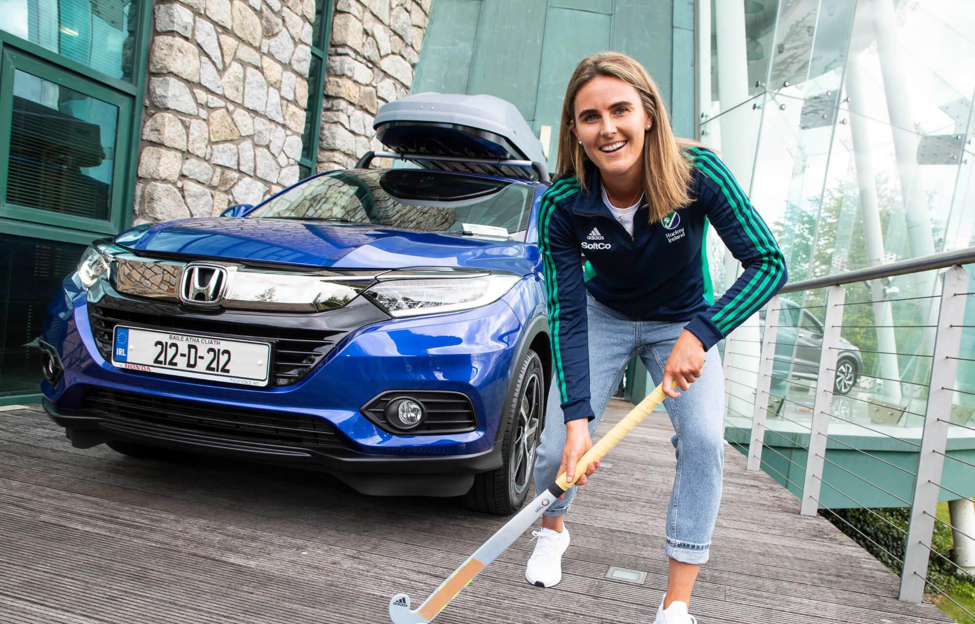 Brand Ambassadors Katie Taylor and Nikki Evans help launch Honda's new 212 HR-V offer