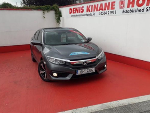 191 Honda Civic 4DR Sedan 1.0 i-VTEC Plus Auto available at Denis Kinane Motors Thurles
