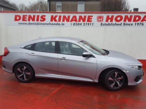 191 Honda Civic 4DR Sedan 1.6 i-DTEC Plus available at Denis Kinane Motors Thurles