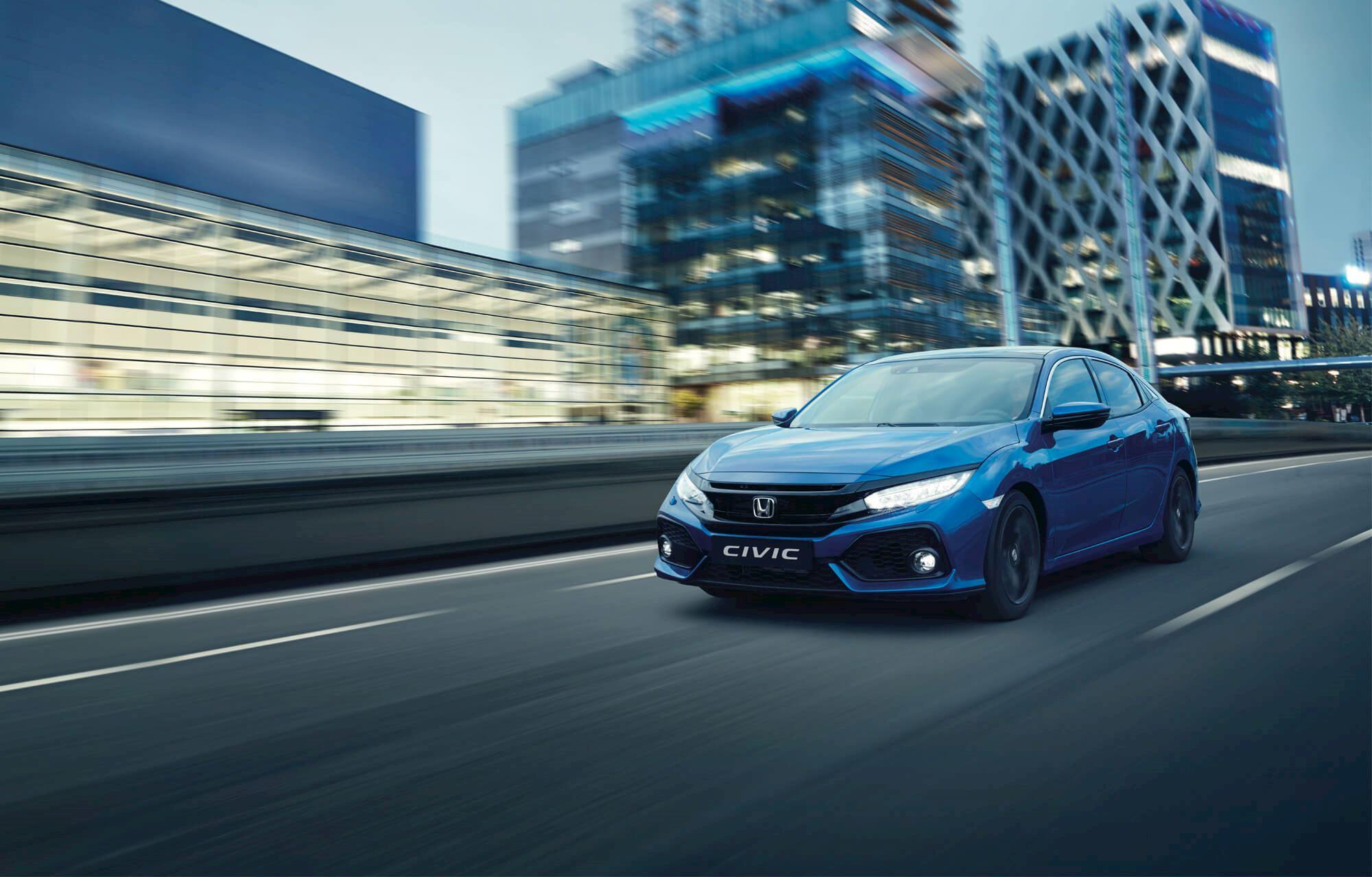 Honda Civic Hatchback available at Denis Kinane Motors