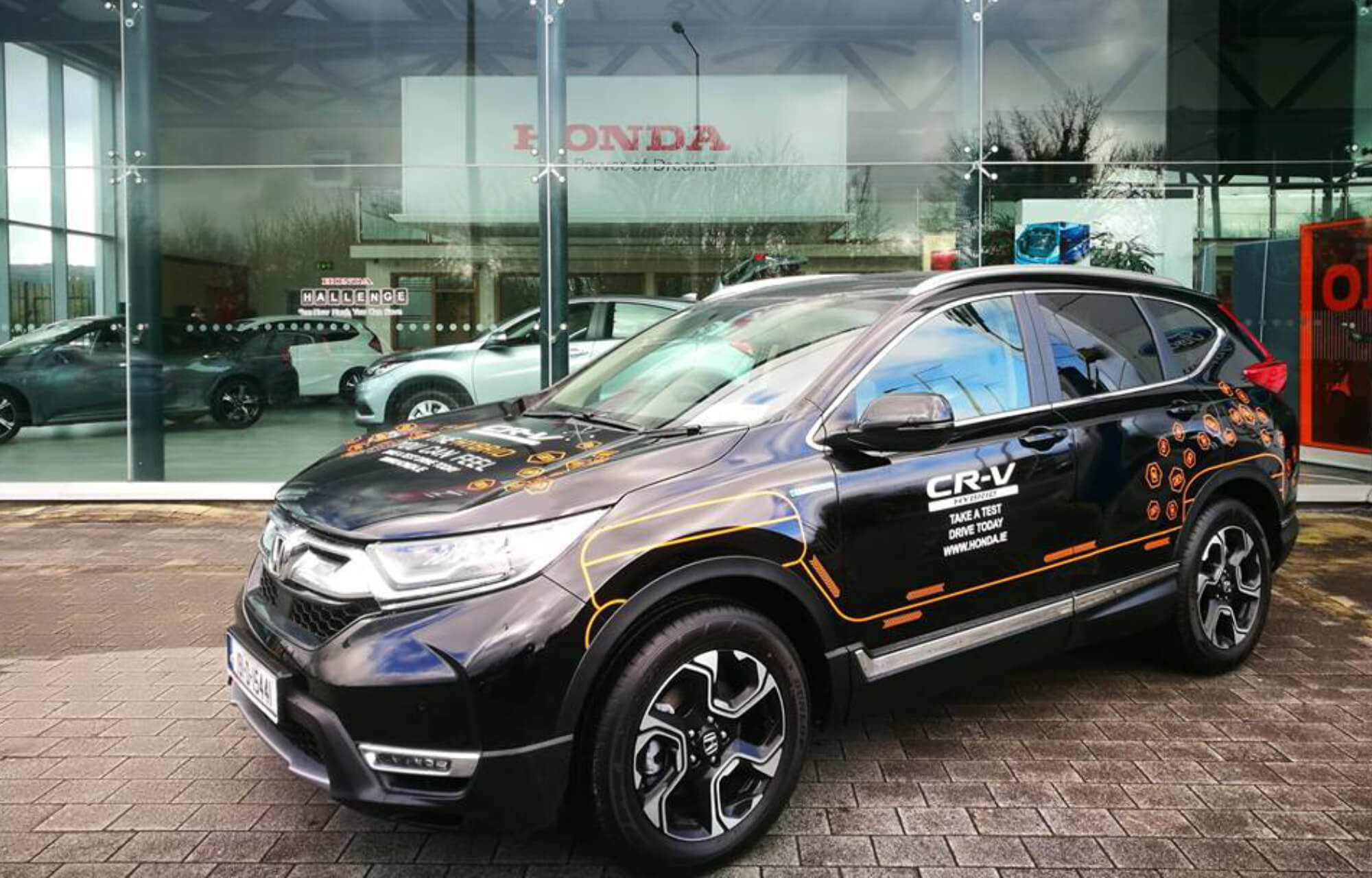 CR-V Hybrid available at Sheils Motor Group