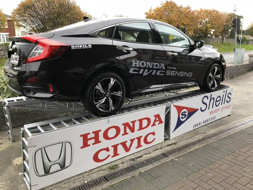 Civic Sedan on show at Sheils Service Station in Ennis