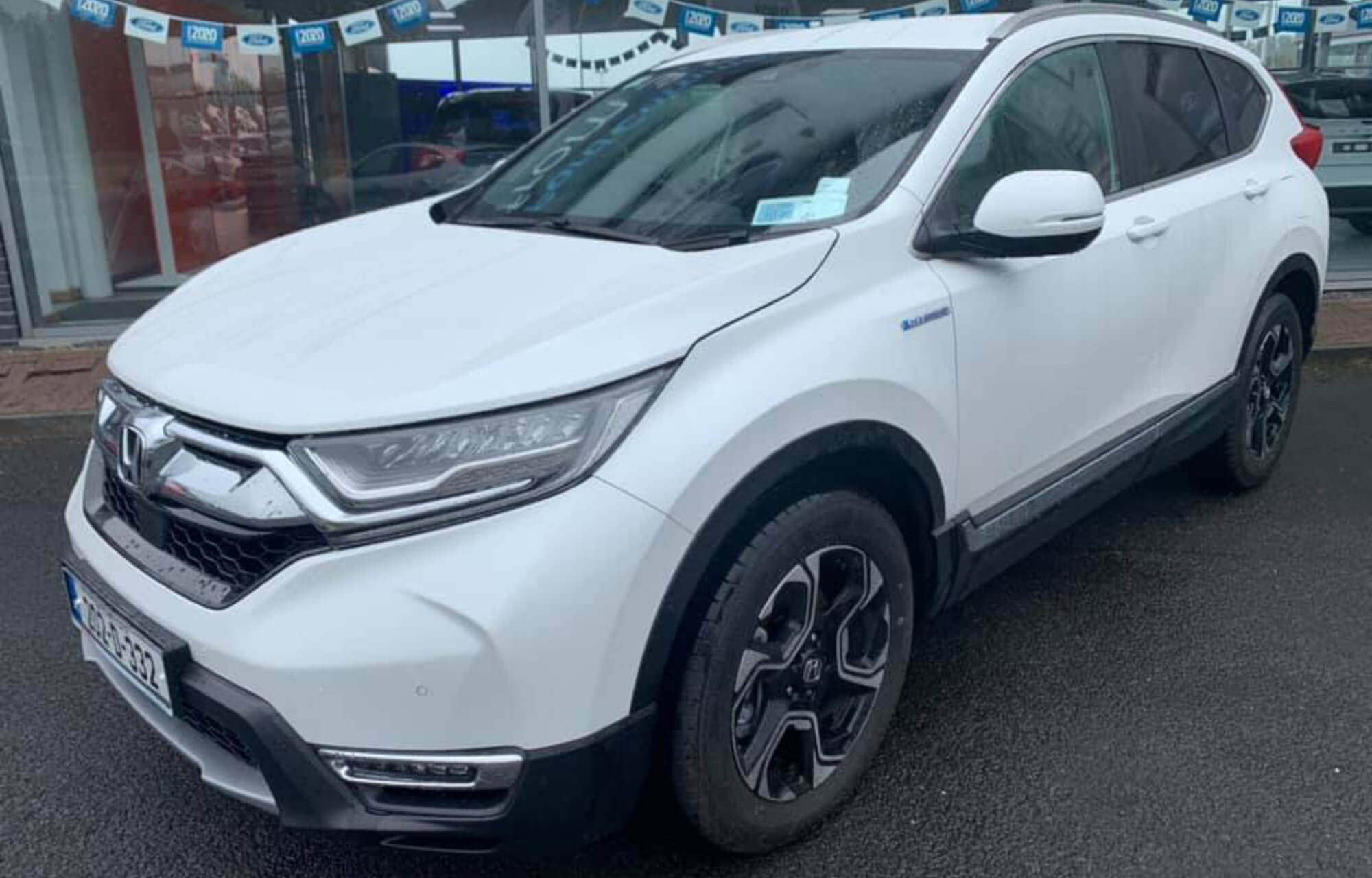 202 CR-V Hybrid 2.0 i-MMD available for test drives at Sheils Galway until Saturday 11th July