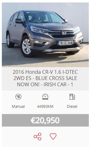 Highland Motors Blue Cross Sale available on 2016-2019 Honda used cars