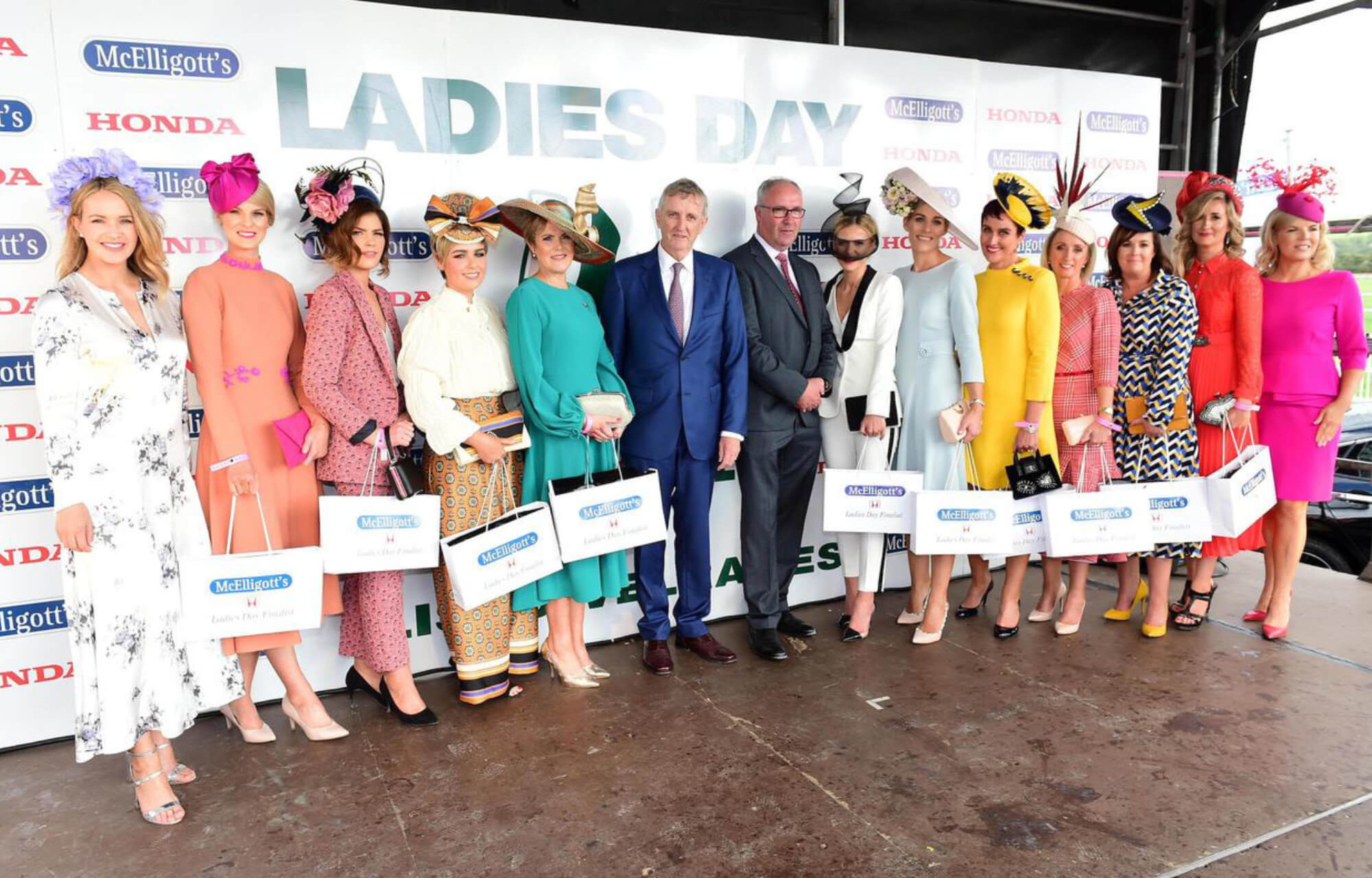 "McElligott's Honda Ladies Day at the Listowel Races"" src="
