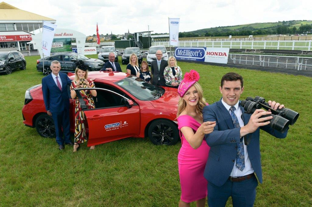 Launch of the McElligott's Honda Ladies Day at the Listowel Harvest Racing Festival