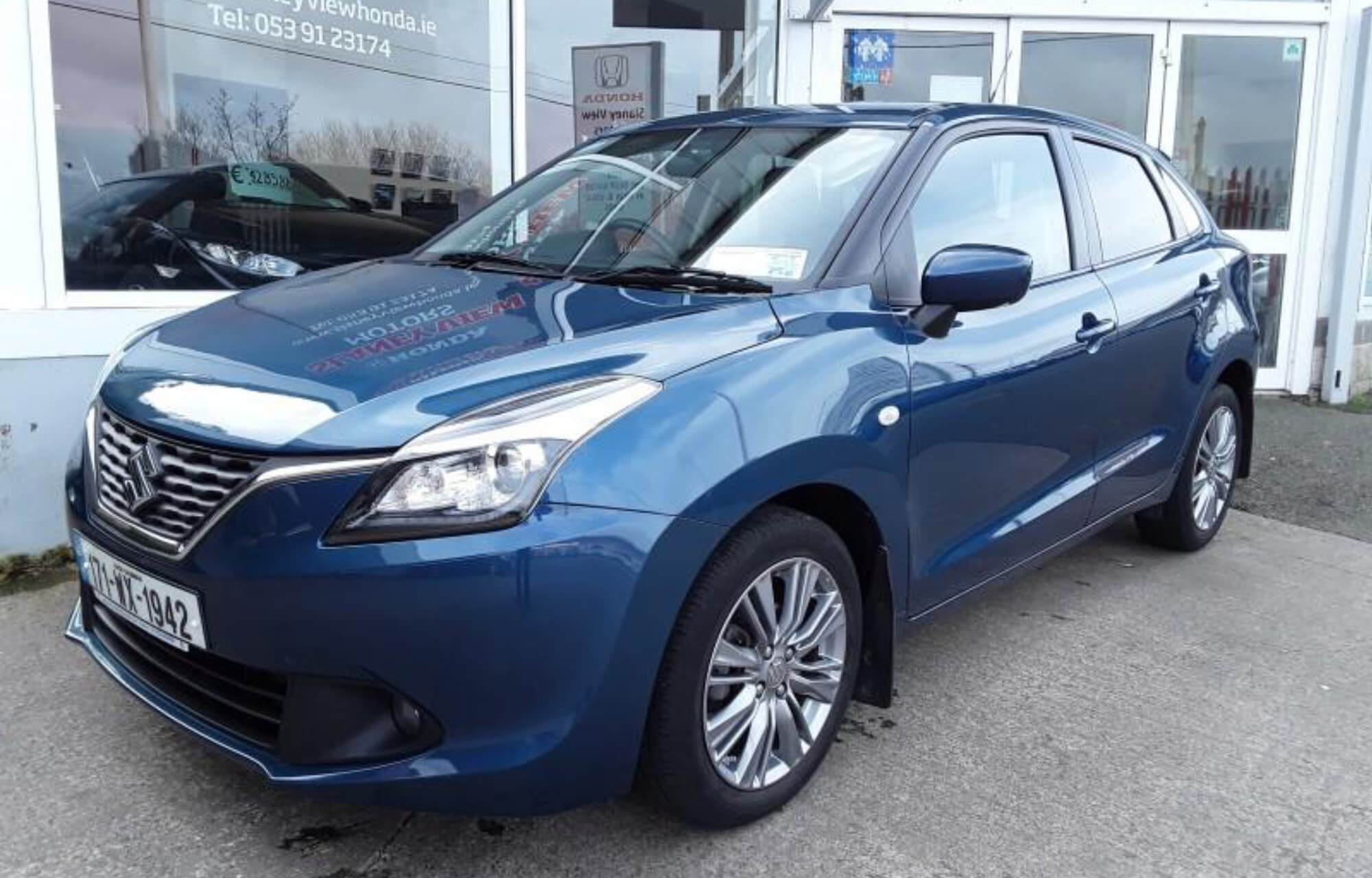 Save €1,000 off 2017 (171) Suzuki Baleno 1.0 Petrol SZ-T available at Slaney View Motors Wexford