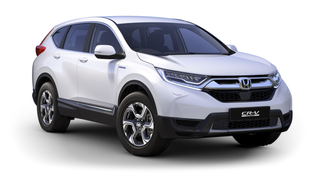 Drive into 192 with a CR-V Hybrid for €93 per week at Castle Service Garage Bray