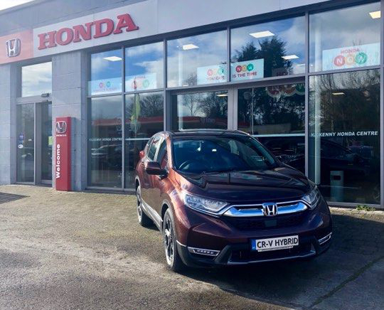CR-V Hybrid now available!