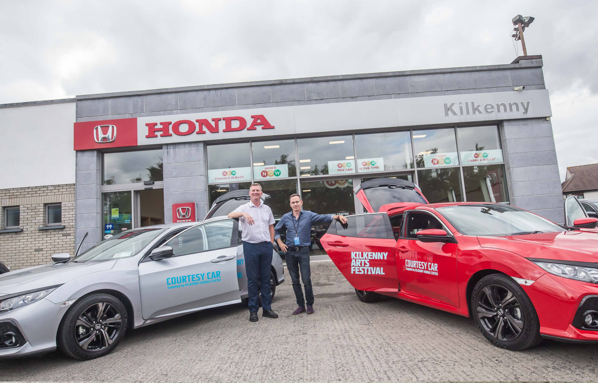 Kilkenny Honda Centre partners with Kilkenny Arts Festival