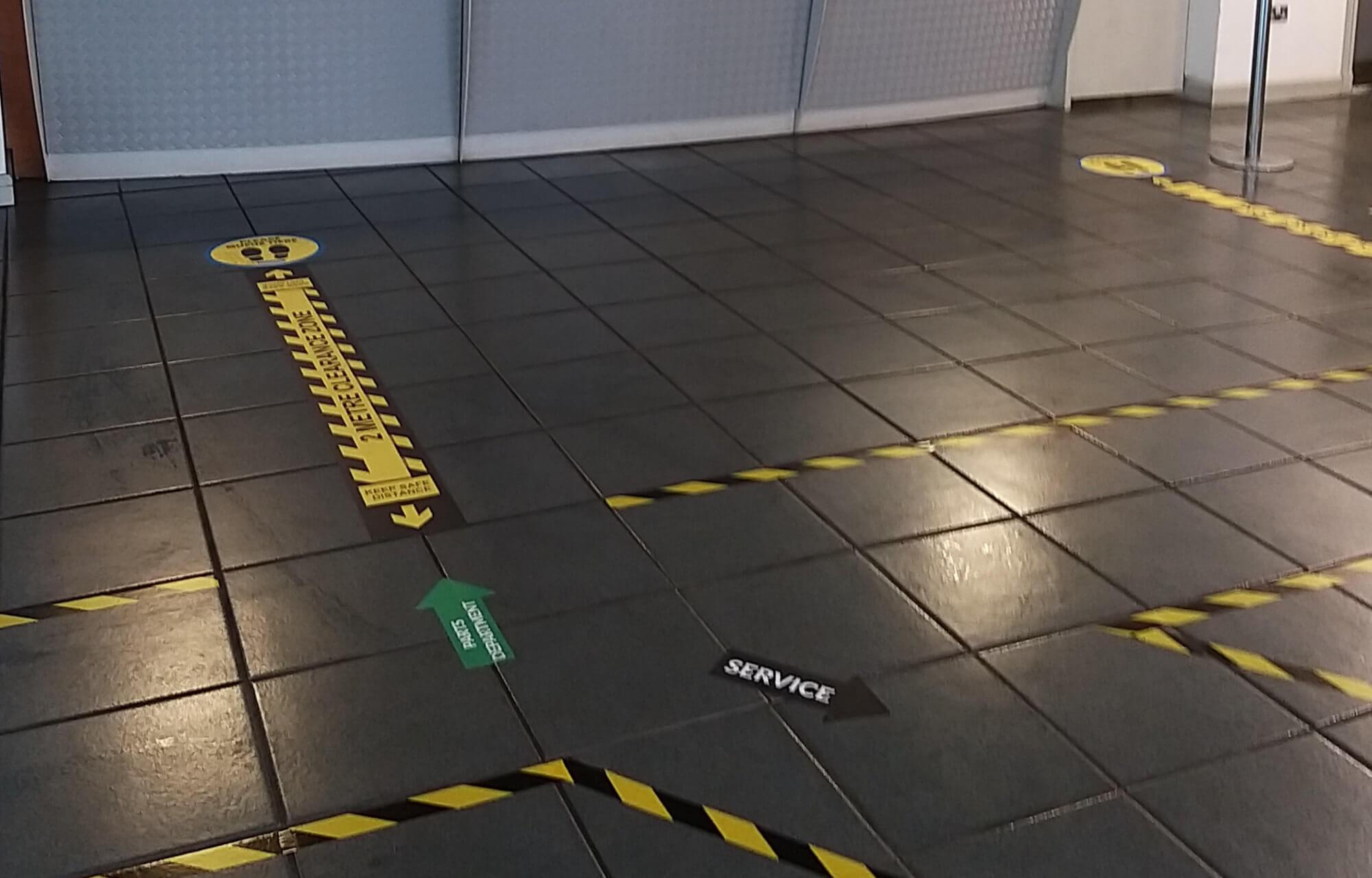 Safety Measure at Gowan Motors