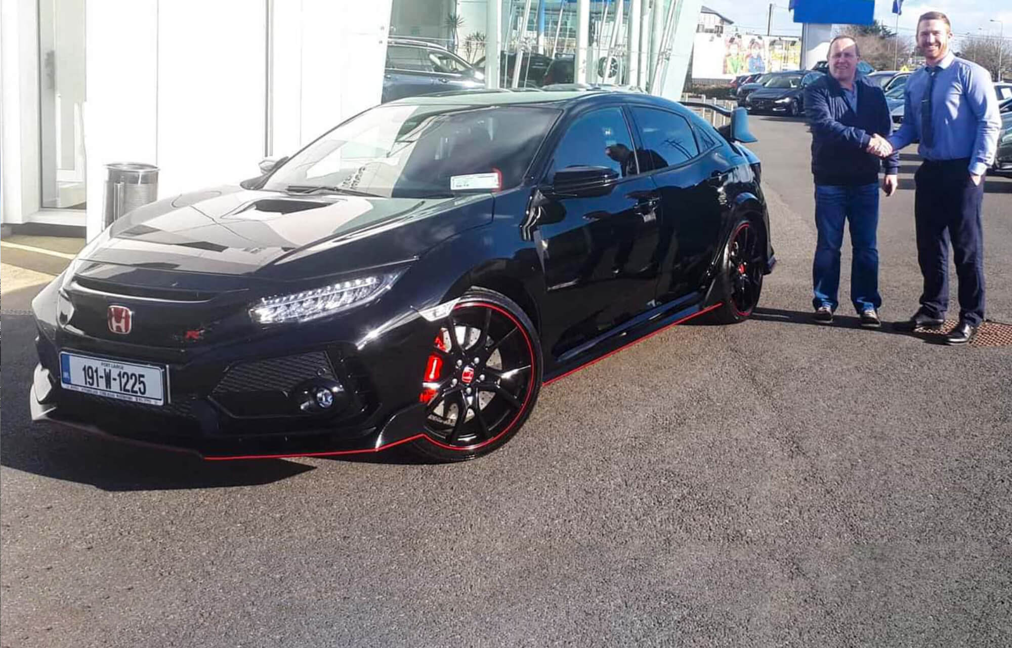 191 Civic Type R Handover
