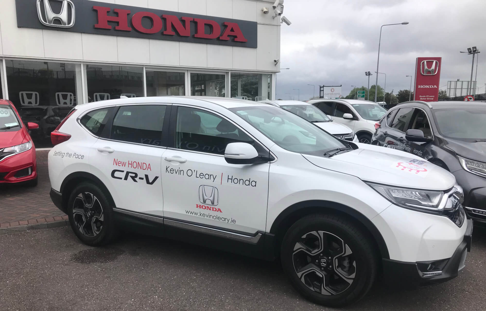 Kevin O'Leary Honda Official Partner of the Cork City Marathon