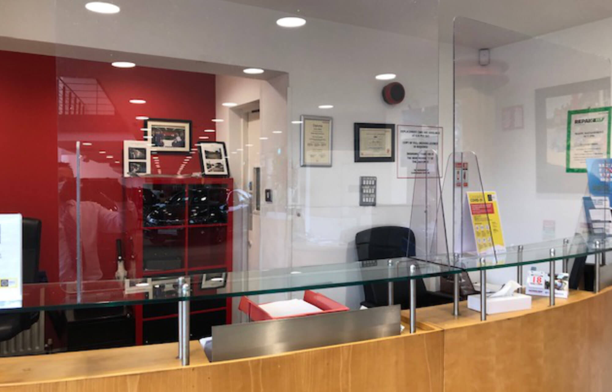 Safety Measures at Clonskeagh Motors
