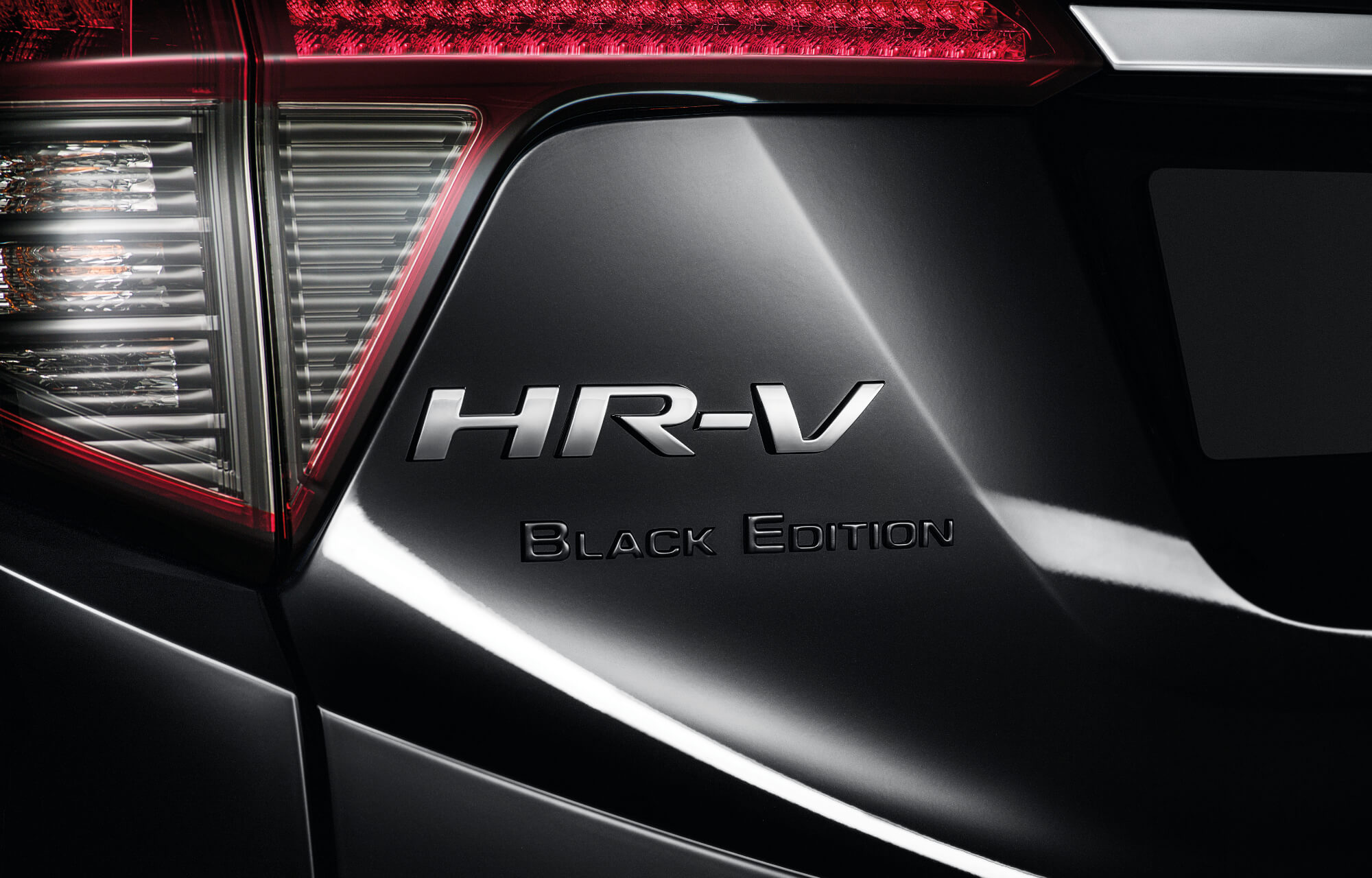 HR-V Black Edition Emblem