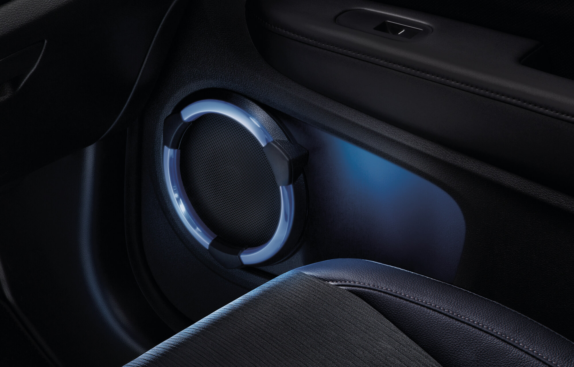 HR-V Illuminated Speaker Rings