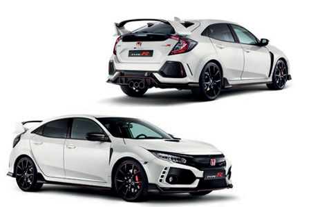 Honda Civic Type R Carbon Exterior Pack