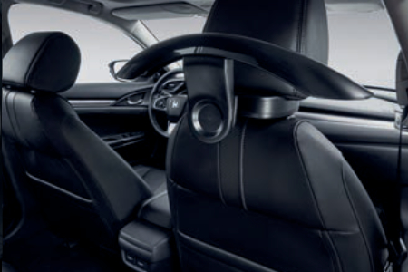 Honda Civic 4 Door Sedan - Coat Hanger Kit