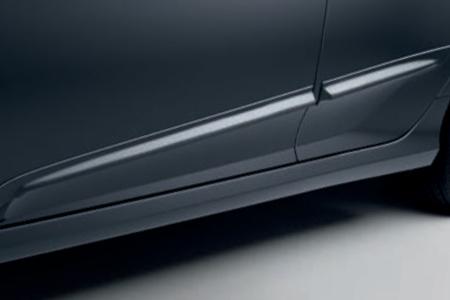 Honda Civic 4 Door Sedan - Lower Door Decoration - Chrome