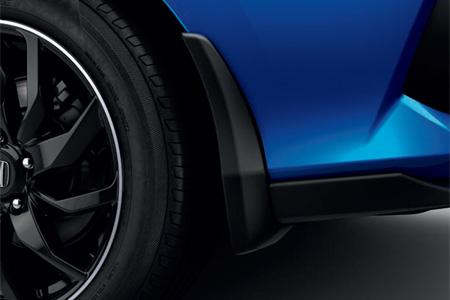 Honda Civic 5 Door Front and Rear Mud Flaps