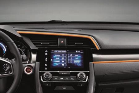 Honda Civic 5 Door Interior Dashboard Accent