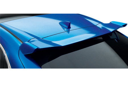 Honda Civic 5 Door Tailgate Spoiler