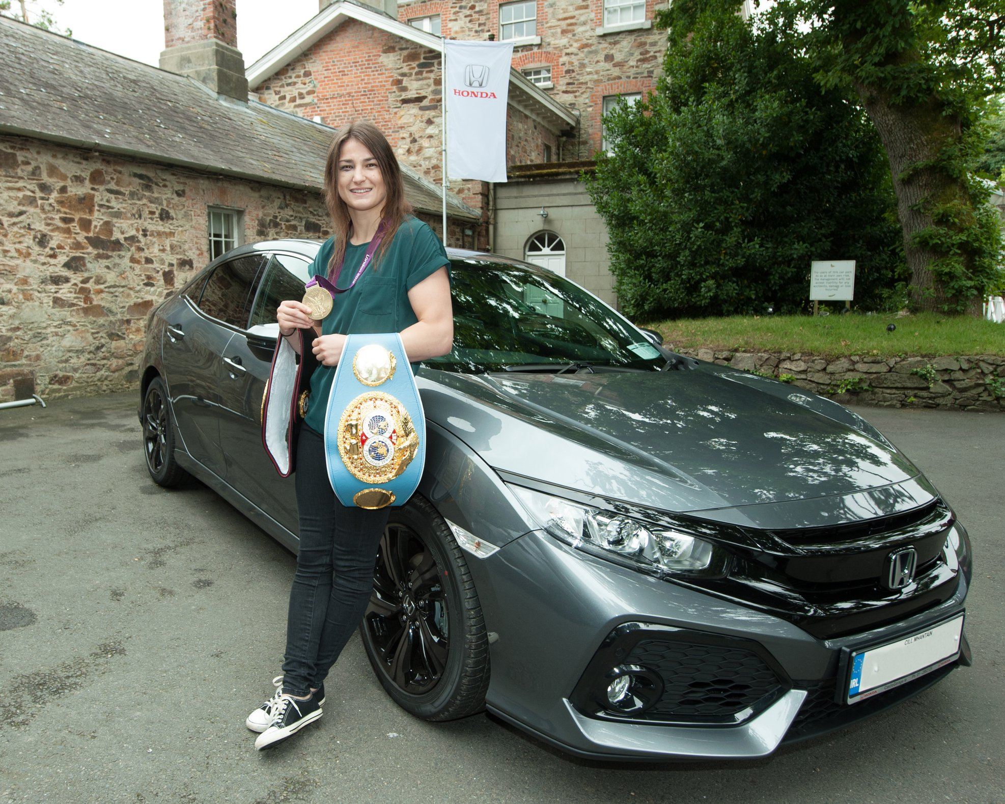 Honda Brand Ambassador_Katie Taylor