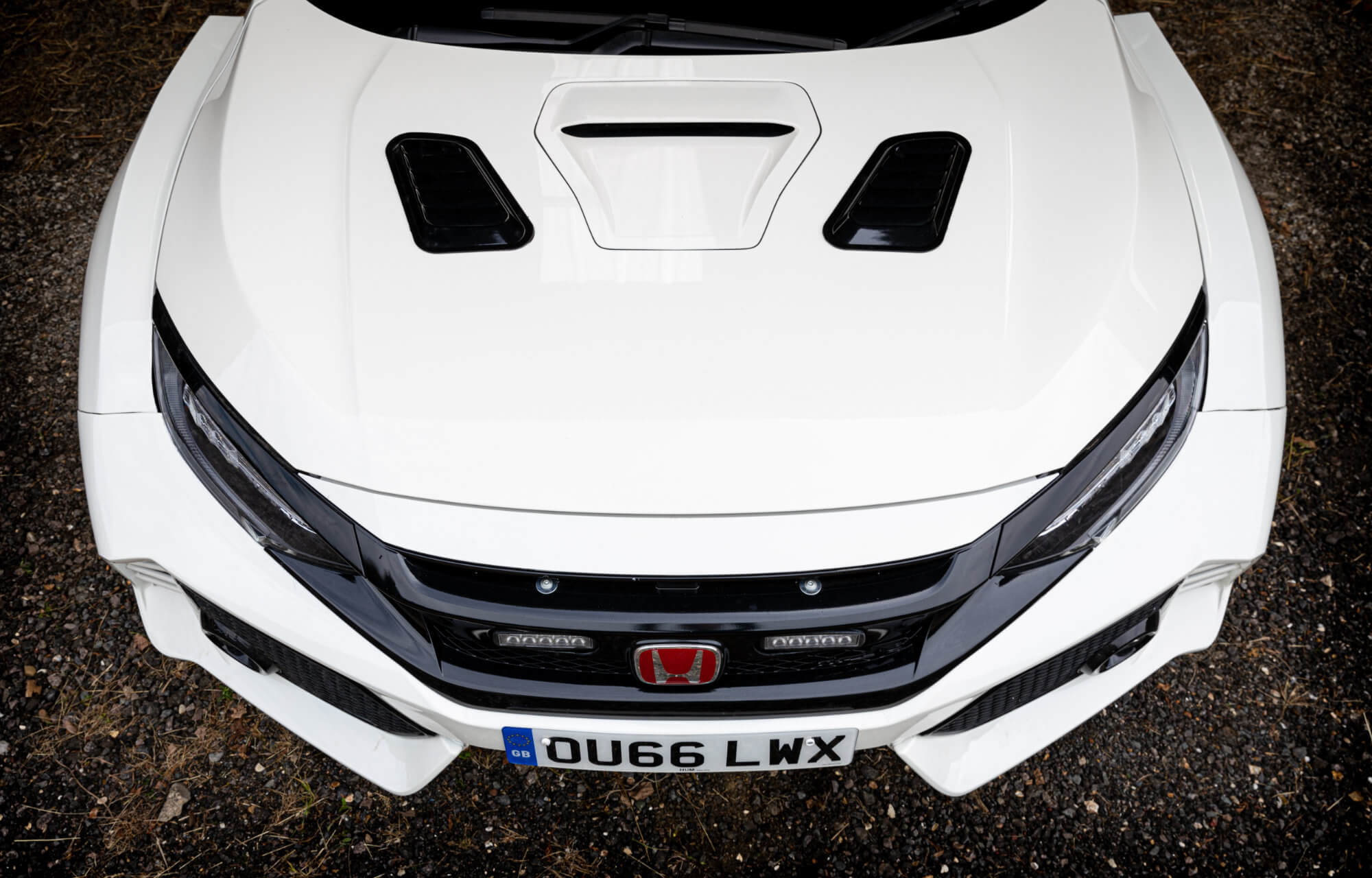 Civic Type R Concept double at SMMT