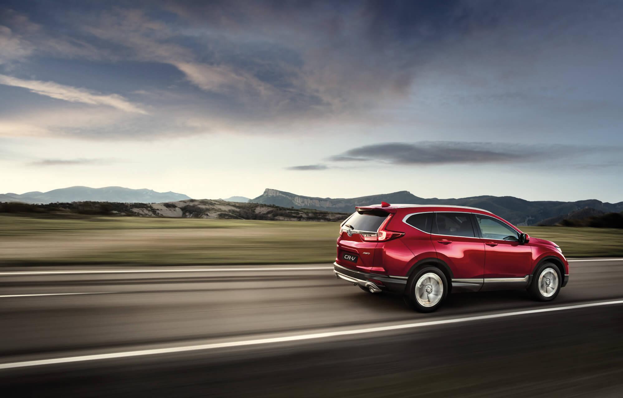 The all-new Honda CR-V