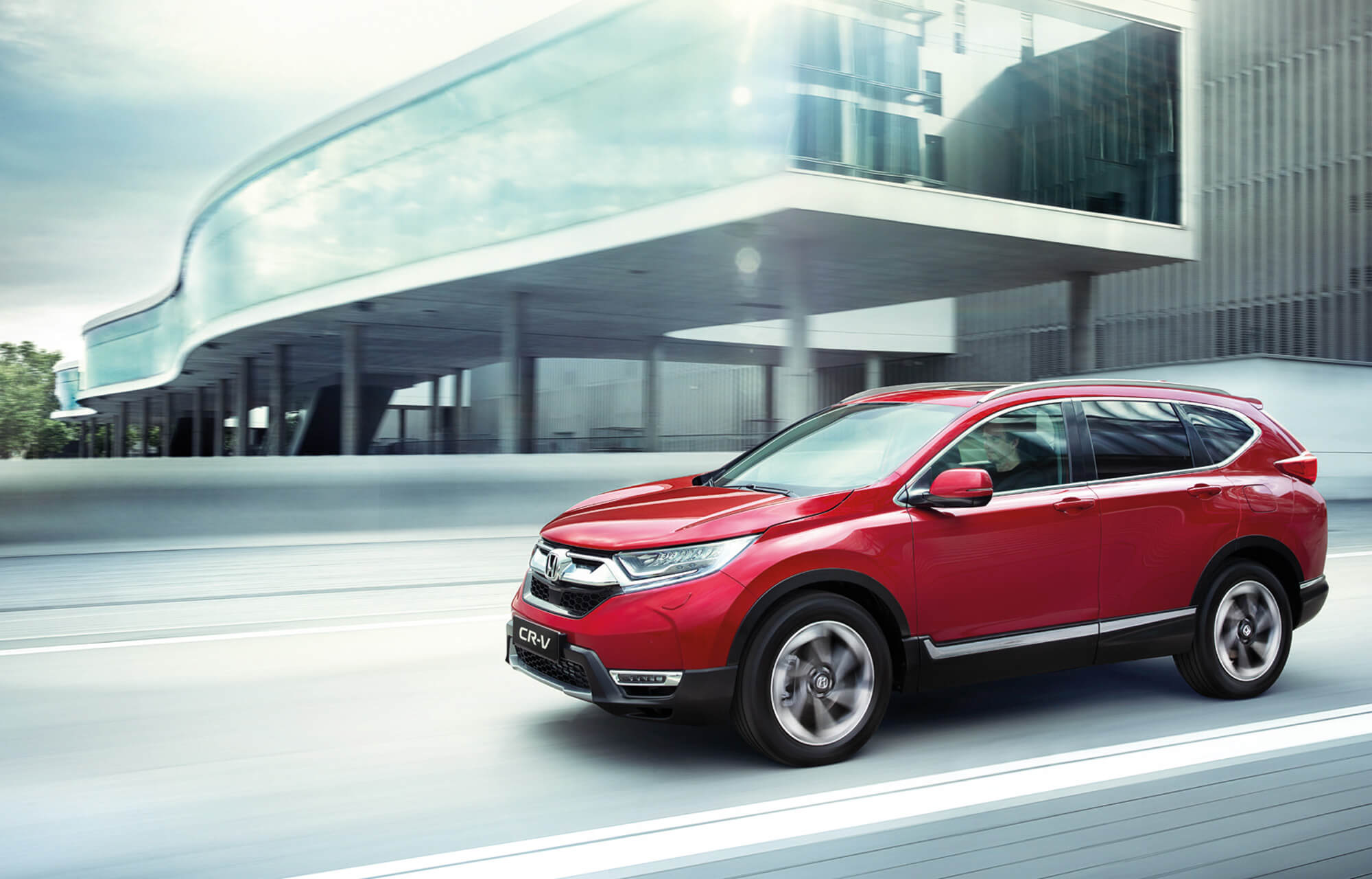 The all-new Honda CR-V