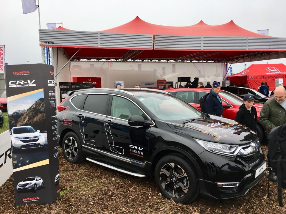 Honda unveils the brand new CR-V at this years' National Ploughing Championships