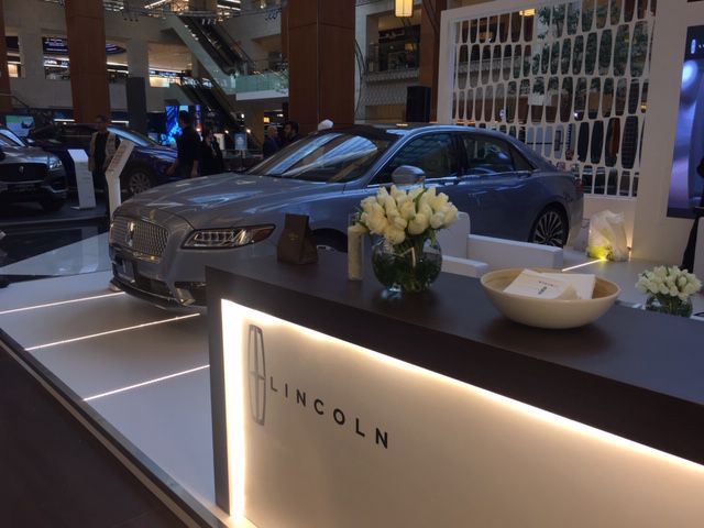 ALGHANIM LINCOLN AT THE KUWAIT MOTOR SHOW 2020