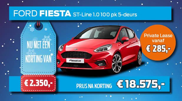 Ford Fiesta Voorraadvoordeel